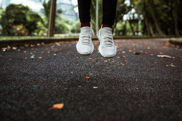 träningen rätt skor